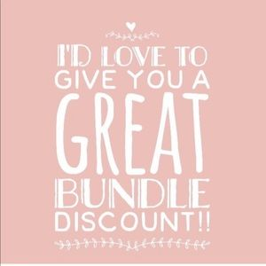 The bigger the bundle, the bigger the discount! 💗
